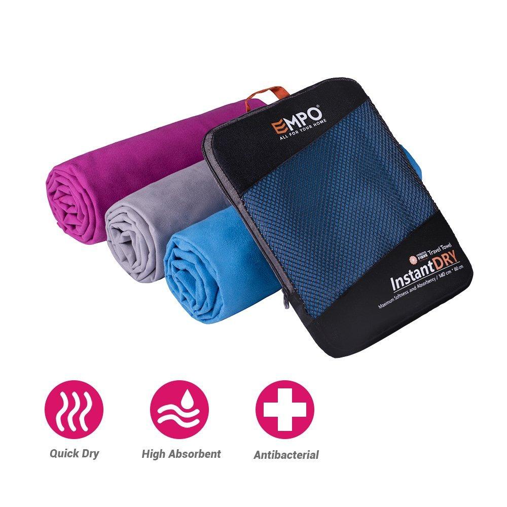 Large Serviette EMPO® en Microfibre